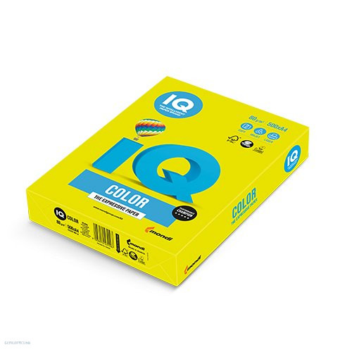 Másolópapír A4 80 g IQ COLOR 500 ív neon