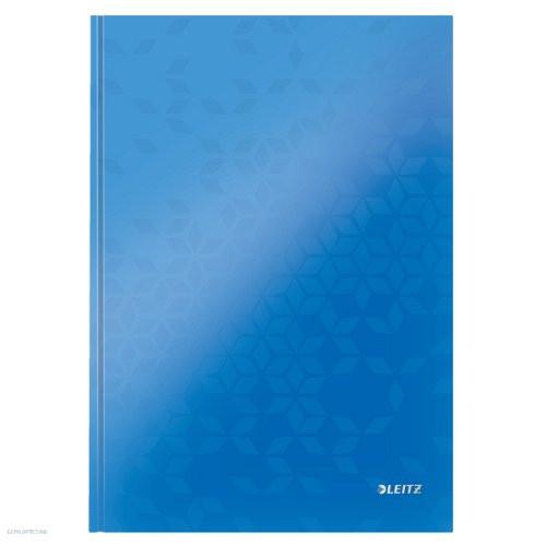 Beíró A4 WOW, Leitz lakkfényű, kockás 80 lapos