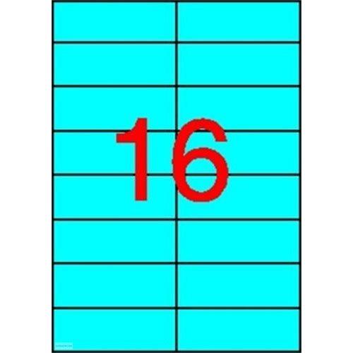 Etikett 105 x 37 mm 20 ív Apli