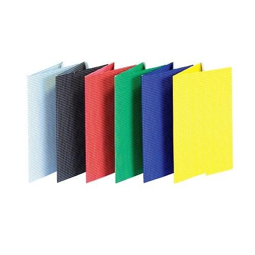 Iratgyűjtő pólyás dosszié A/4 gumis karton kockás