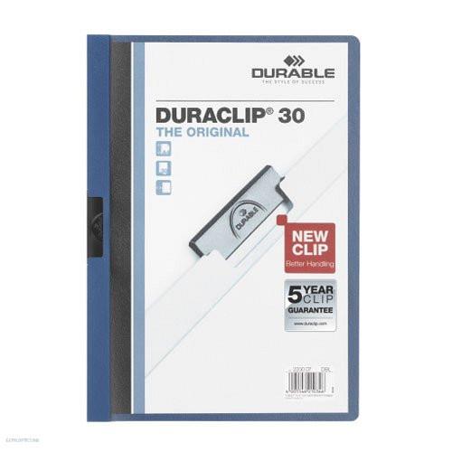 Klipmappa A/4 Duraclip 2200