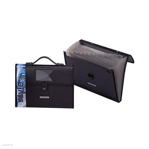 Irattáska harmonika PP A/4 Foldermate Style Plus 136