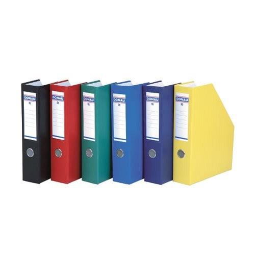 Iratpapucs 75mm PP/karton színes DONAU 3949001PL-18