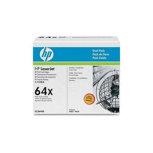 HP lézertoner CC364X No.64X fekete 24000 old.