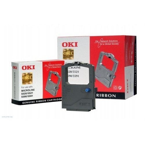 OKI nyomtatószalag ML5520 01126301 fekete