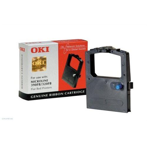 OKI nyomtatószalag ML 390 09002310 fekete