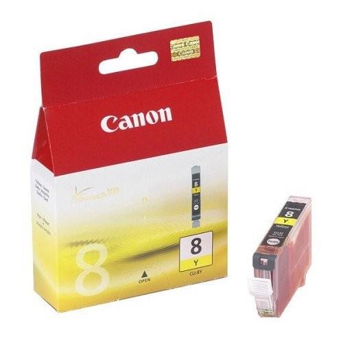 Canon tintapatron CLI-8 sárga