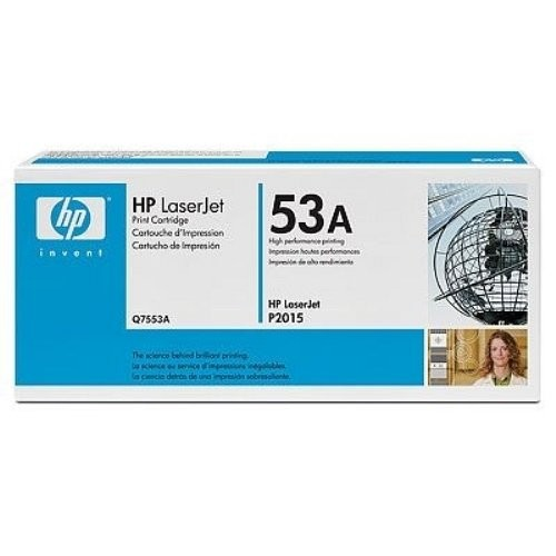 HP Lézertoner Q7553A No.53A fekete 3000 old.