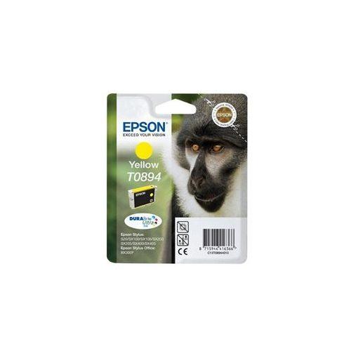 Epson tintapatron T089440 sárga