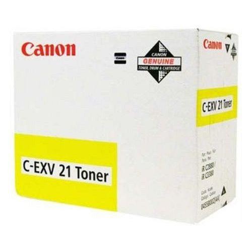 Canon másolótoner C-EXV 21 sárga 14000 old.