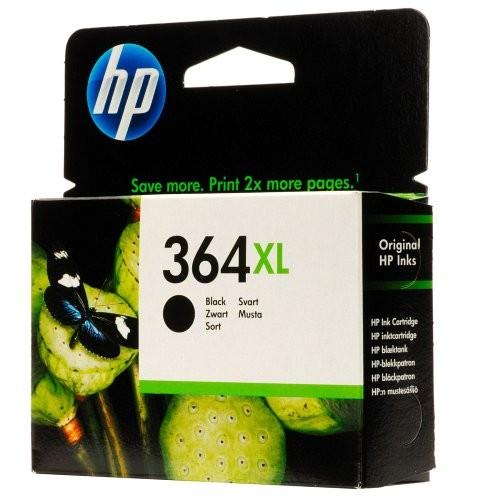 HP tintapatron CN684EE No.364XL fekete 550 old.