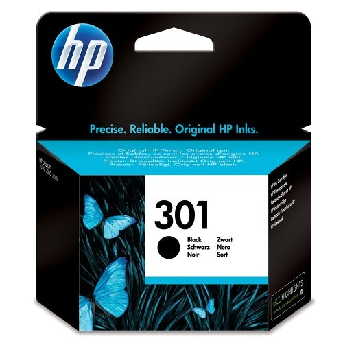 HP tintapatron CH561EE No.301 fekete 190 old.