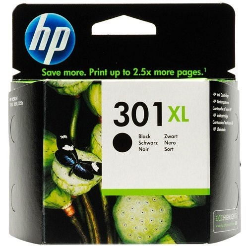 HP tintapatron CH563EE No.301XL fekete 480 old.