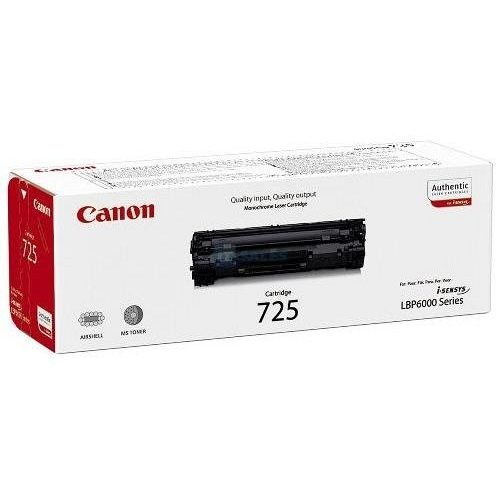 Canon lézertoner CRG-725 fekete 1600 old.