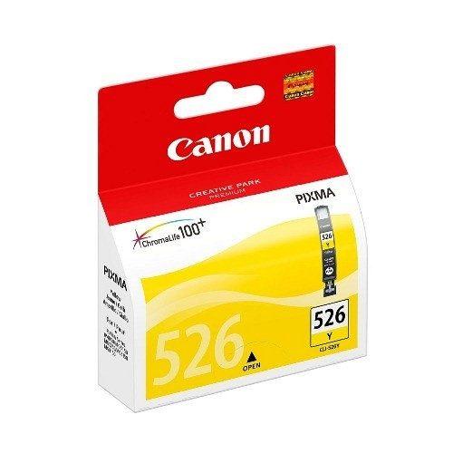 Canon tintapatron CLI-526Y sárga 515 old.