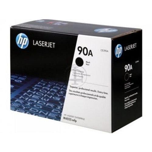 HP lézertoner CE390A No.90A fekete 10000 old.