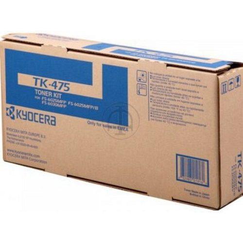 Kyocera lézertoner TK-475 fekete 15000 old.