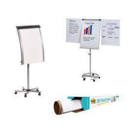 Flip-chart táblák, papírok