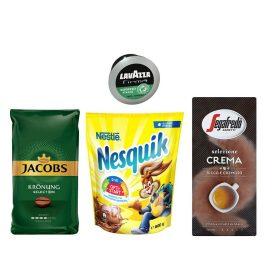 Kávék, capuccino-k, kakaók