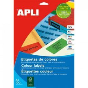 APLI univerzális etikettek (íves)